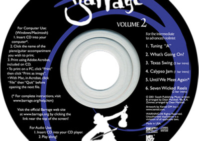 Barrage Volume 2 music CD