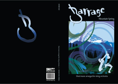 Mountain Spring music book cover