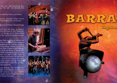 Barrage CD jacket