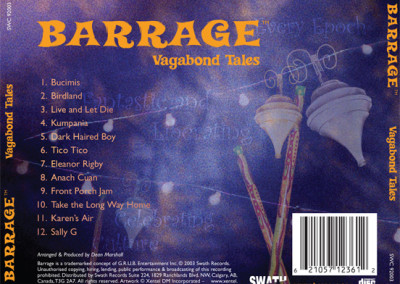 Barrage CD traycard