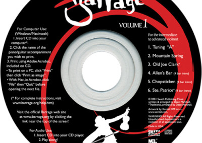 Barrage Volume 1 music CD