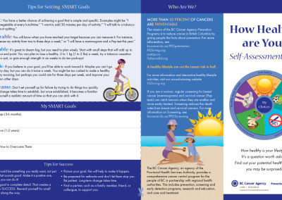 BCCA How Healthy Are You brochure