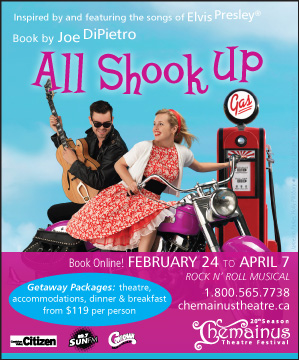 All Shook Up ad