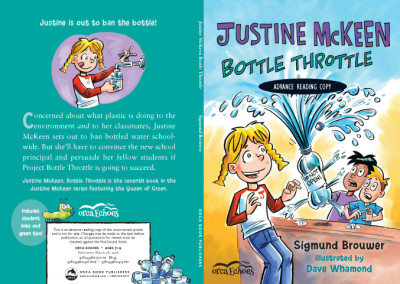 Justine McKeen Bottle Throttle cover ARC