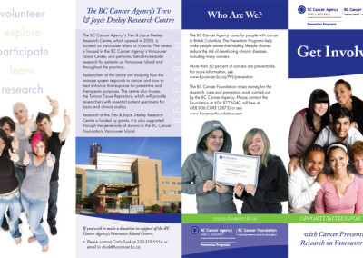 BCCA Youth brochure