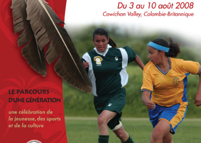 NAIG Athletic French poster